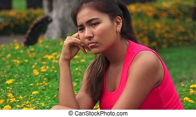 Sadness Crying Anger Female Teen