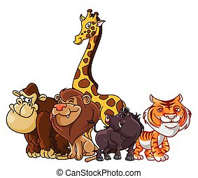 Safari Animals group