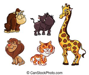 Safari Animals group