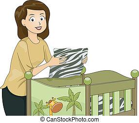 Safari Crib