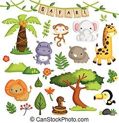 Safari Forest Animal