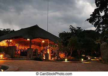 Safari Lodge - Hunting safari lodge
