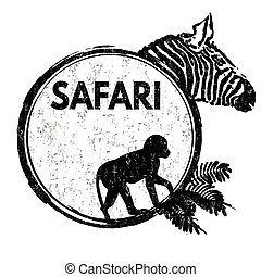 safari, selo
