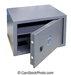 Safe box open
