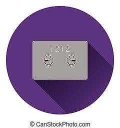 Safe cell icon