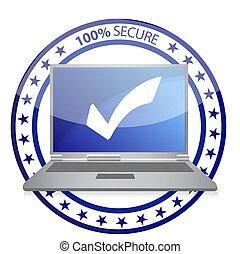Safe computer illustration design