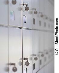 safe deposit lockboxes