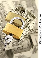 Safe storage of money