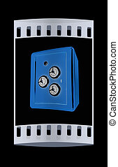 safe. The film strip