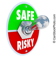Safe Vs Risky Toggle Switch Secure Behavior Reduce Liability...
