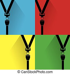 safety belt Icon belt,  icon,  safety,  seat,  seatbelt,  vector,  security,