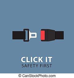 Safety Belt Illustration