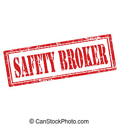 Safety Broker-stamp