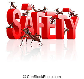 safety building protect and secure - ants building safety ...