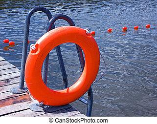 Safety buoy - Orange safety buoy