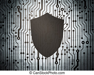 Safety concept: circuit board with Shield