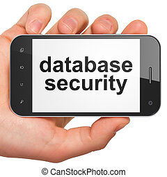 Safety concept: Database Security on smartphone