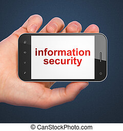 Safety concept: Information Security on smartphone
