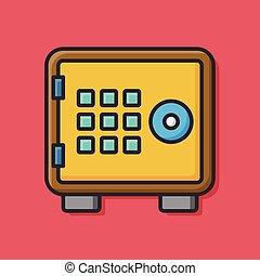 Safety Deposit Box icon
