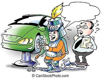 Safety equipment in garages