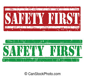 Safety first stamps
