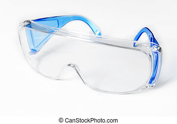 Safety Glasses - Safety glasses, used to protect the eyes,...