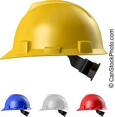 Safety helmet - RGB vector illustration (Illustrator 8 EPS...