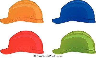 Safety helmet. vector illustration
