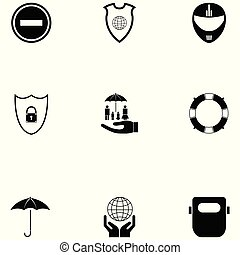 safety icon set