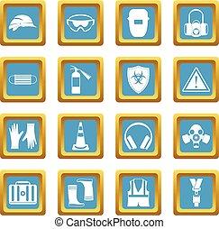 Safety icons azure