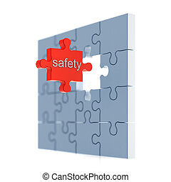 Safety puzzle concept