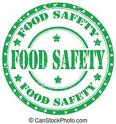 safety-stamp, nourriture