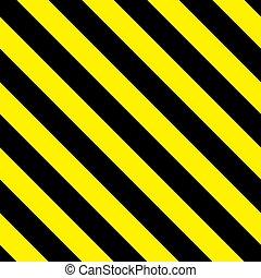 Safety stripes. Warning stripes. Barricade tape.