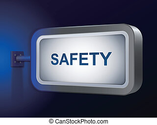 safety word on billboard