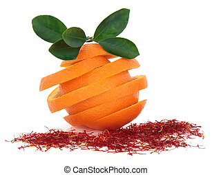 Saffron and Orange Fruit