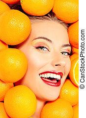saft, orangen