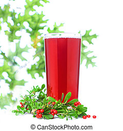 saft, ?owberry, beere, glas