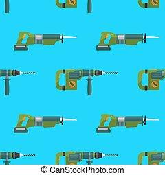 saga, mönster, gengäld, vektor, perforator