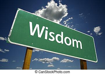 sagesse, panneaux signalisations