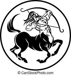 Sagittarius Centaur Zodiac Horoscope Sign - Sagittarius...
