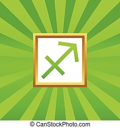 Sagittarius picture icon