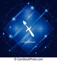 Sagittarius sign of the zodiac