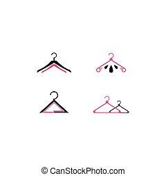 sagoma, logotipo, moda