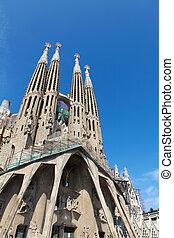sagrada, barcelona, familia