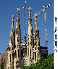 Sagrada Familia Barcelona Front