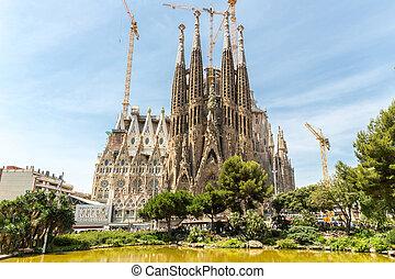 Sagrada Familia Barcelona - Sagrada Familia Church in...