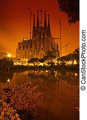 sagrada familia, barcelone, -, espagne