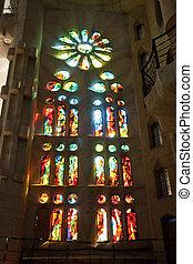 Sagrada Familia Church in Barcelona, Catalonia