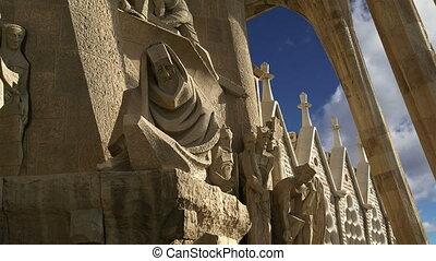 Sagrada Familia in Barcelona - Sagrada Familia by Antoni...