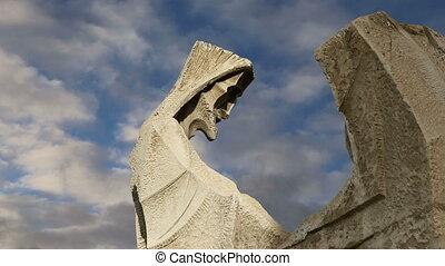 Sagrada Familia in Barcelona, Spain - Sagrada Familia by...
